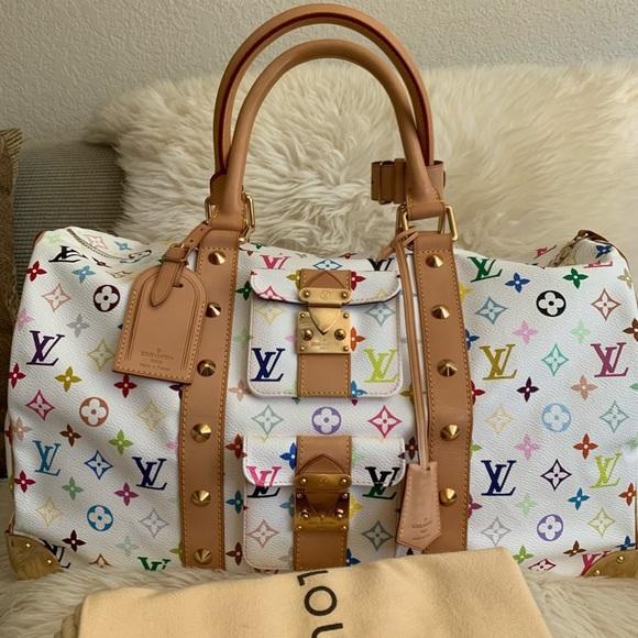 Louis Vuitton Handbags - 🧳Louis Vuitton Multicolored Keepall 45🧳